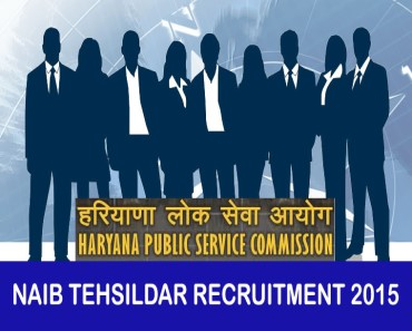 HPSC naib tehsildar recruitment