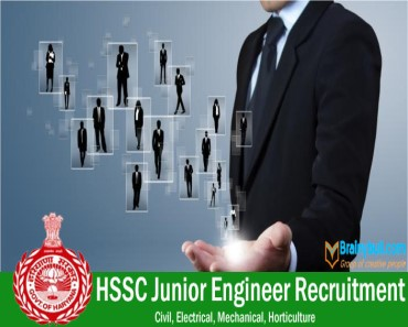 hssc junior engineer recruitment 2015
