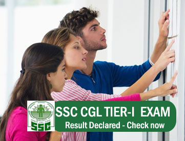 SSC CGL TIER-1 RESULT 2015
