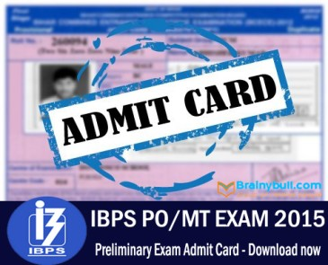 ibps po admit card download