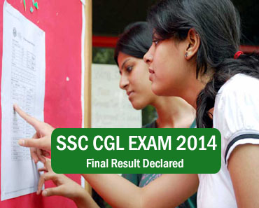 ssc cgl 2014 final result
