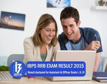 ibps rrb exam result