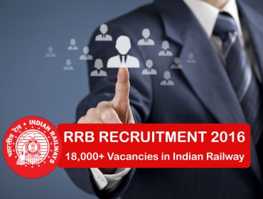 rrb recruitment 2016