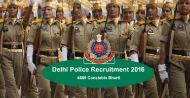 delhi police bharti 2016